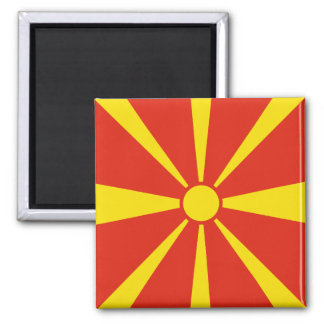 Macedonia Flag Magnet