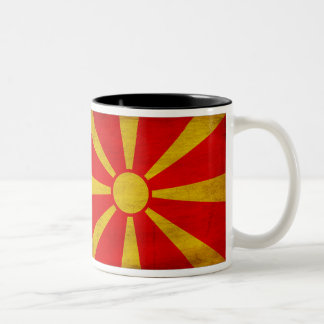 Macedonia Flag Mug