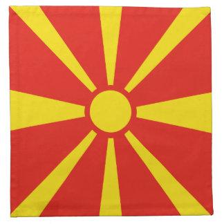 Macedonia Flag Napkin