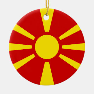 Macedonia Flag Ornament