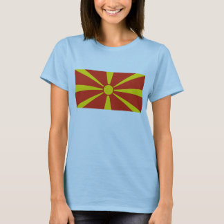 Macedonia Flag x Map T-Shirt