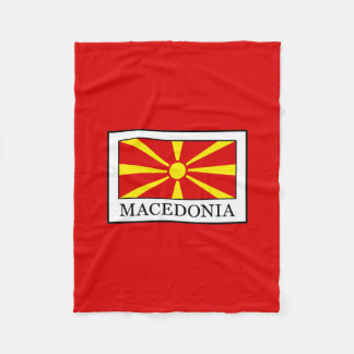 Macedonia Fleece Blanket