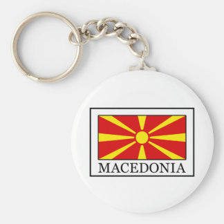 Macedonia keychain