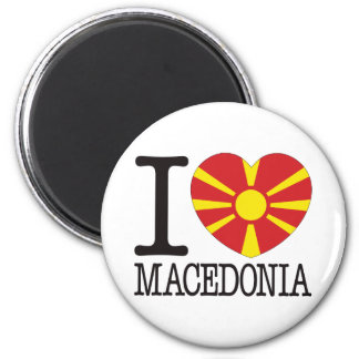 Macedonia Love v2 Magnet