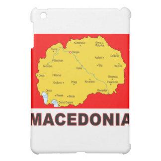 Macedonia Map iPad Mini Case