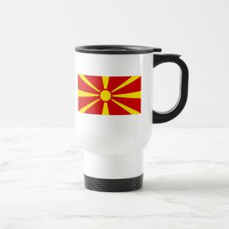 macedonia stainless steel travel mug