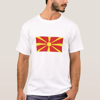 Macedonia National Flag T-Shirt