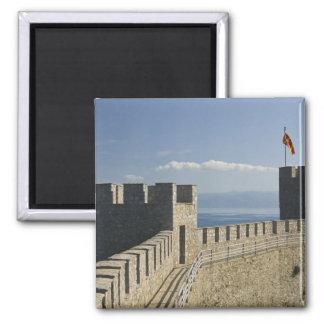 MACEDONIA, Ohrid. Car Samoil's Castle - Castle 2 Magnet