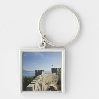 MACEDONIA, Ohrid. Car Samoil's Castle - Castle Key Ring