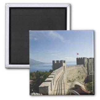 MACEDONIA, Ohrid. Car Samoil's Castle - Castle Magnet
