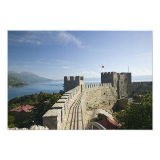 MACEDONIA, Ohrid. Car Samoil's Castle - Castle Photograph