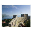 MACEDONIA, Ohrid. Car Samoil's Castle - Castle Postcard
