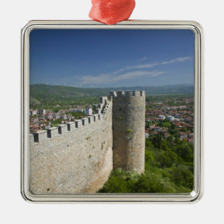 MACEDONIA, Ohrid. Car Samoil's Castle / Christmas Ornament