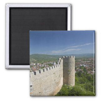MACEDONIA, Ohrid. Car Samoil's Castle / Magnet