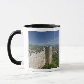MACEDONIA, Ohrid. Car Samoil's Castle / Mug