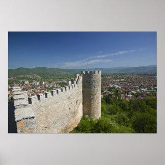 MACEDONIA, Ohrid. Car Samoil's Castle / Poster