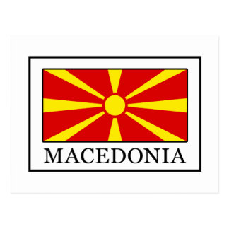 Macedonia Postcard