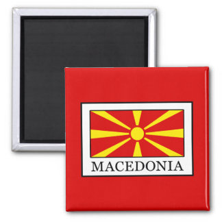 Macedonia Square Magnet