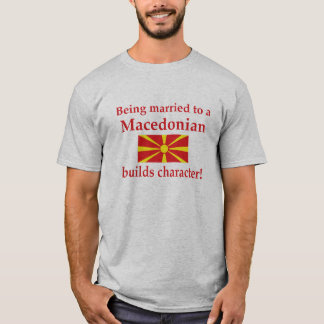 Macedonian Builds Character T-Shirt