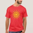 macedonian flag T-Shirt
