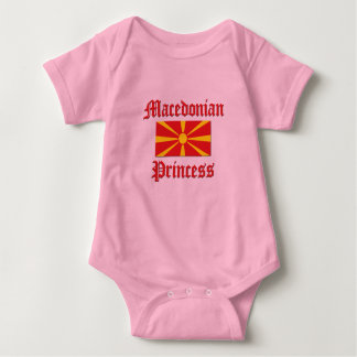 Macedonian Princess Baby Bodysuit