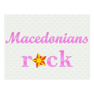 Macedonians Rock - Cute Pink Postcard