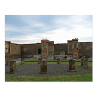 Macellum (Markets) in Ancient Pompeii Postcard