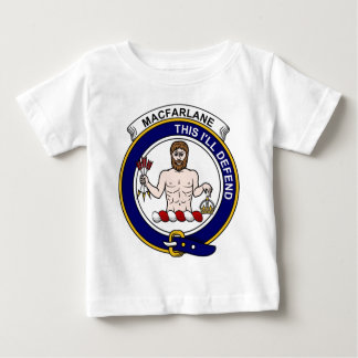 MacFarlane Clan Badge Baby T-Shirt