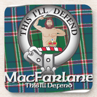 MacFarlane Clan Coasters