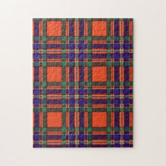 Macfarlane clan Plaid Scottish tartan Jigsaw Puzzle