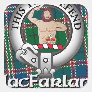 MacFarlane Clan Square Stickers