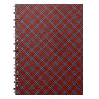 MacFarlane Clan Tartan Scottish Designed Print Notebook