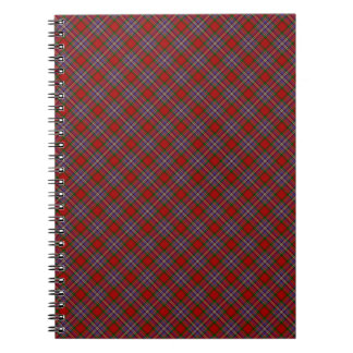 MacFarlane Clan Tartan Scottish Designed Print Notebook