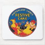 Macfarlane Lang's Vintage Label Mouse Mat