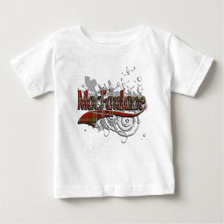 MacFarlane Tartan Grunge Baby T-Shirt
