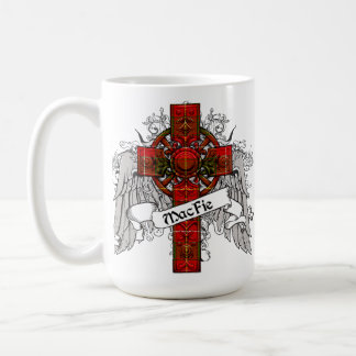 MacFie Tartan Cross Coffee Mugs