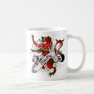 MacFie Tartan Lion Coffee Mug