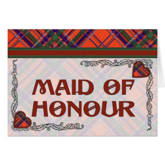MacGillivary Scottish Tartan Cards