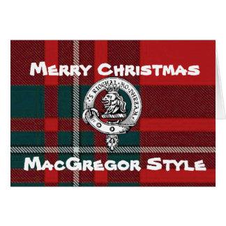 MacGregor Christmas Card Tartan