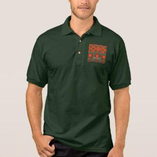 Macgregor clan Plaid Scottish tartan Polo T-shirts