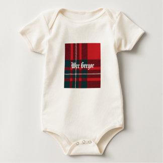 MacGregor Plaid, Wee Gregor Baby Bodysuit