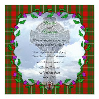 MacGregor Scottish Wedding Invitation
