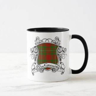 MacGregor Tartan Shield Mug