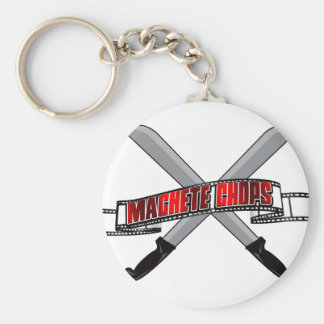 Machete Chops Logo Key Chain