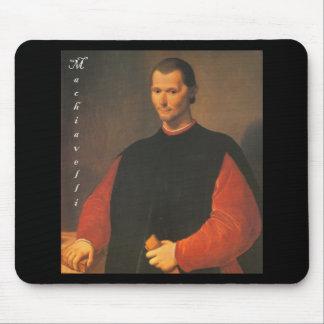 Machiavelli 3 quarters with Blackadder Mouse Pad