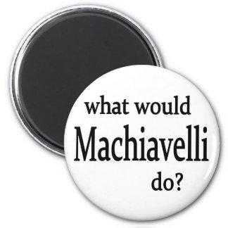 Machiavelli 6 Cm Round Magnet