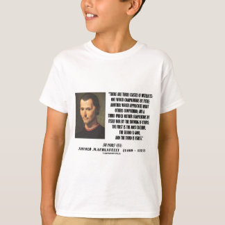 Machiavelli Three Classes Of Intellects Quote T-Shirt