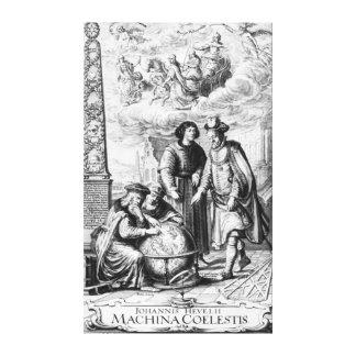 'Machina Coelestis' by Johannes Hevelius, Canvas Print