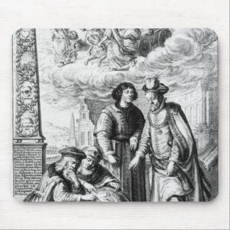 'Machina Coelestis' by Johannes Hevelius, Mouse Mat