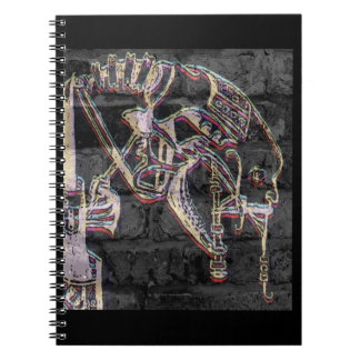 Machine Cult (Graffiti) Spiral Notebook